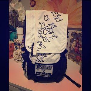Jansport X Gonz Bird Hatchet LS Backpack NWT